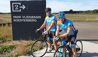 Volop koers op de landingsbaan bij vliegbasis Soesterberg
